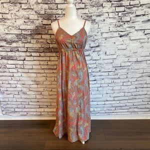 Aventura Organic Cotton Floral Maxi Dress